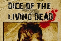 Dice of the Living Dead boardgame in Battlegrounds Gaming Engine / Screenshots from one of the many games that can be played using my BGE virtual tabletop software