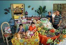 what the world eats  / Peter Menzel  www.menzelphoto.com