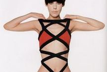 Rudi Gernreich / Rudi Gernreich was an Austrian-born American fashion designer and an early gay activist. He helped to fund the early activities of the Mattachine Society, introduced the single-piece topless monokini ...