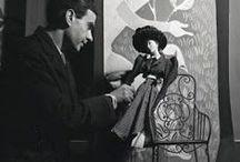 Théâtre de la Mode 1945 / Théâtre de la Mode was a 1945–1946 touring exhibit of fashion mannequins, approximately 1/3 the size of human scale, crafted by top Paris fashion designers.