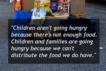 Yes, We Can End Hunger / Simple easy ways to help us make a world in which no child goes to bed hungry. / by Feed the Children
