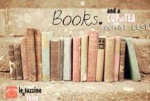 libri e tazzine... il connubio perfetto! ❤☕️❤️ / le immagini che abbiamo trovato sul web, un mix tra copertine di libri, illustrazioni, tazze di te o tazzine di caffè