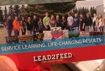 Lead2Feed: A Student Leadership Program / Based on the leadership principles from the book Taking People with You by David Novak, Executive Chairman of Yum! Brands, Lead2Feed gives students the opportunity to lead, create and implement team projects that alleviate hunger AND NEW this year – team projects can address other needs in their communities.