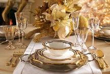 Bespoke Tableware / Adorn your table to resemble a royal dine out.