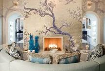 Exquisite Wallpaper Designs / Add the much needed chutzpah with wallpaper designs that are sure to wow!