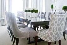 Dining Room Essentials / Dine in style with these inviting gorgeous dining room inspirations.