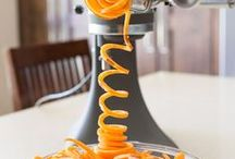 Spiralizer Recipes / From apples to zucchini, put a fresh new spin on all your favorite fruits and vegetables