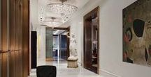 Hallway Designs / What's a hallway if not glamorous and drool worthy? Well here is all of it and more.