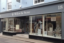 Window Displays at Willow & Stone / Window displays at Willow and Stone over the years.