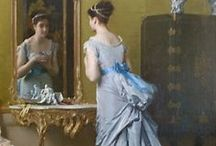 Victorian Fashion: Paintings