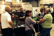 Appearances & Events / Representatives of Cascade Minerals in action, teaching people  about soil remineralization and how it benefits the health of plants, people and the planet.