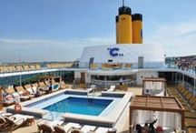 "Costa Cruises / ""Cruising Italian Style!"" Costa sails always with you"