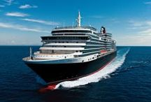 """Cunard Line / """"For over a century and a half, the iconic ships of Cunard have been defining sophisticated ocean travel. They have always been The Most Famous Ocean Liners in the World."""""""
