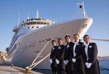 "Silverseas Cruises / ""Every Silversea voyage is a journey of discovery, benvenuti a bordo"""