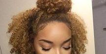 Coiffures / Idées de coiffures pour cheveux crépus/frisés