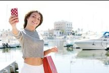 Cruise Agent Selfie / Hier zie je de resultaten van onze Cruise Selfie zomeractie. Doe ook mee, pak je smartphone en maak een te gekke cruise selfie.  De leukste inzending wordt beloond met een 3-daagse AIDA studiereis.