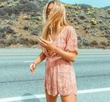 Summer Style Inspiration / Outfits, fashion, style inspiration for summer.