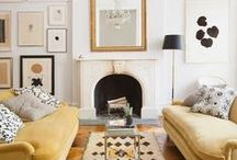 Lounge and Living / Gorgeous living spaces and inspiring colour schemes