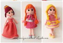 AMIGURUMI Dolls / #Crochet #Craft #Doll #Handmade