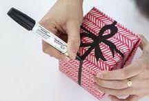 Idee per incartare / Mai più i soliti pacchetti!