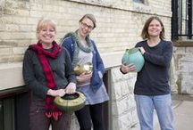 Experimental Pottery / An exceptional group of experimental pieces from Ephraim Pottery 2015
