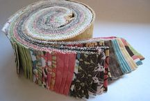 Q- Jelly roll / Stripes, jelly rolls, Machine based quilts