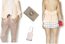 pretty things / Floral. Pastels. Color. Inspiration