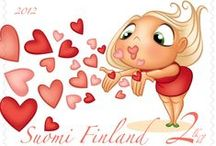 Postage Stamps Finland
