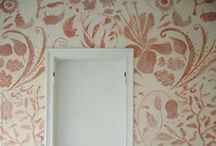Wallpaper and Wall Decoration / Stunning wallpaper patterns and murals.