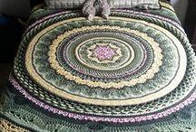 Crochet granny square / Crochet granny squares, blankets