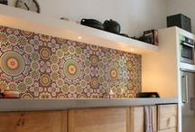 Tiles on Walls and Floors / Create a feature wall or floor with awesome tiling