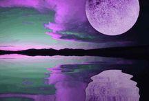 Nuit, Lune et Étoiles / Night, Moon and Stars