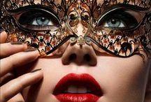 Mask on eyes
