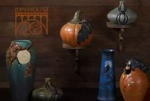 20th Anniversary Fall Collection / As the air grows cooler and the darkness creeps further in with each passing day we marvel at the once-hidden woodland creatures now illuminated by the golden afternoon glow and moonlit nights. Celebrate the bountiful season with the Ephraim Pottery 20th Anniversary Fall Collection! Limited editions available for order 9/1/16 - 10/15/16.
