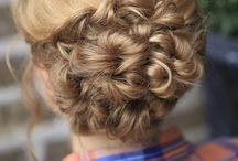 Hair Styles. / Updos, Curls, and all the Inbetweens / by Jenna Hugh