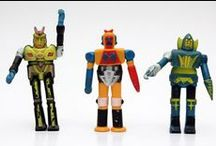 Japanese Toys / The amazing world of Robots, mechas and all Otaku related toys, specially mechas 1970-1990 / by Manuel Valero