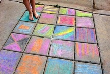 Sidewalk Chalk / Is there anything better than this? See all the fun ways to use chalk or add one to our board! To learn more about the Luca Lashes interactive app and eBook series for kids, visit www.LucaLashes.com