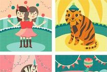 Illustrations / Fonts / Designs