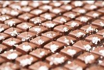 Our Chocolates / Every piece is hand made and handcrafted to perfection, no wax, no preservatives, no corn syrup, and nothing artificial! We create real chocolate, for real people