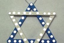Happy Hanukkah / #Food and #craft ideas to celebrate Hanukkah! / by Luca Lashes