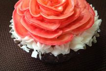 Rose cupcakes / Beautiful romantic take on a cupcake