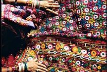 Indian and Moroccan Textiles