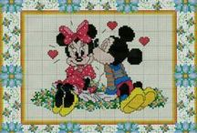 Cross Stitch - Disney & Friends / by marty mccullough