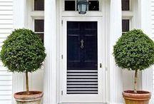 Beautiful DOORWAYS / Doorways, gates, entranceway, homes, houses