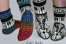 Strikking, sokker