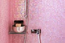 tiles; mosaic wall & flooring
