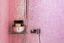 tiles; mosaic wall & flooring