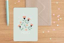 Papiers - Cartes, Faire parts et enveloppes...