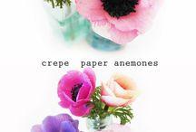 DIY - Fleurs en papier