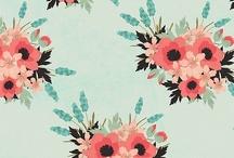 Print fleurs